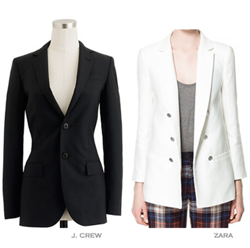 4. Well-Fitted Blazer