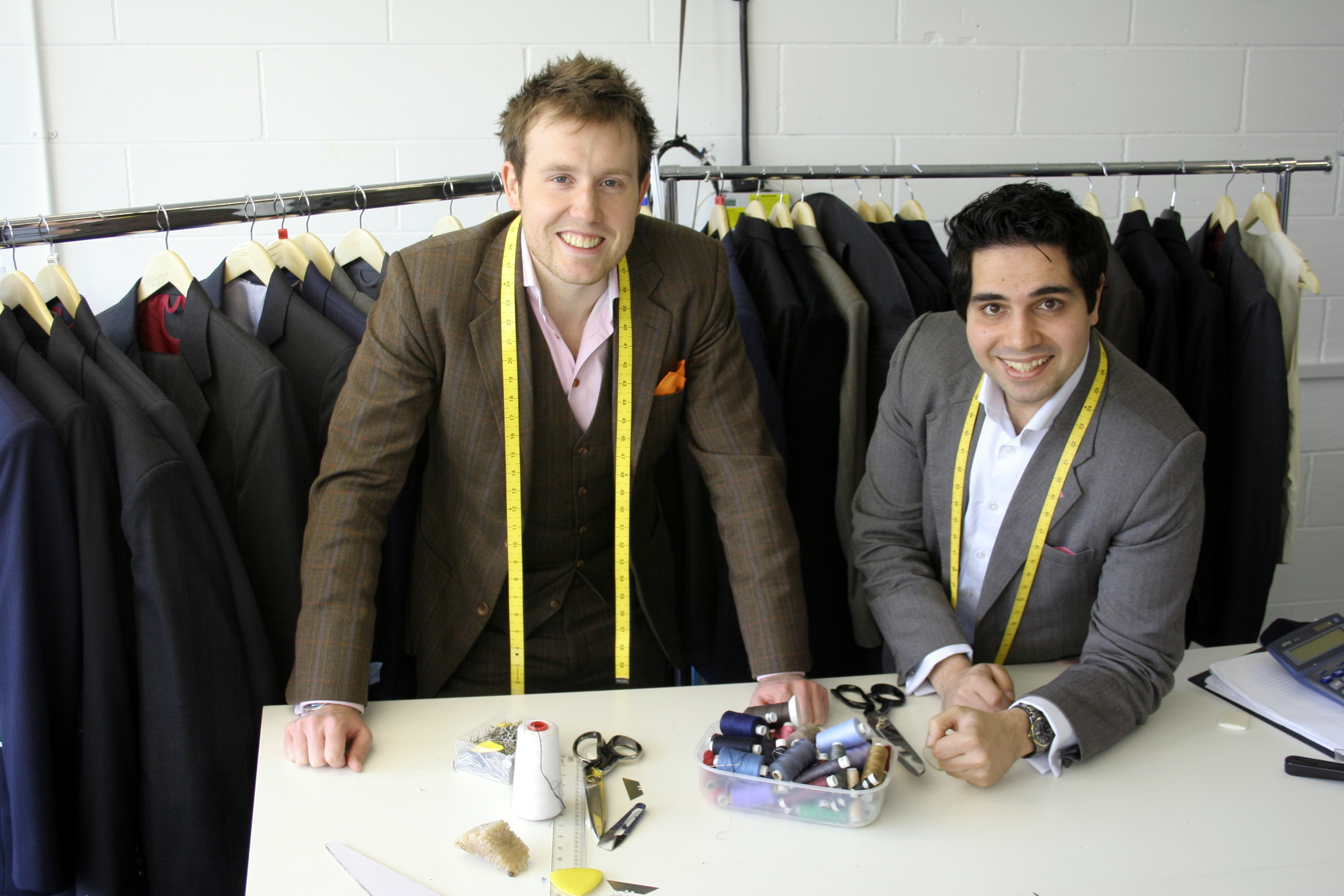 A Suit That Fits  co-founders, Warren Bennett and David Hathiramani