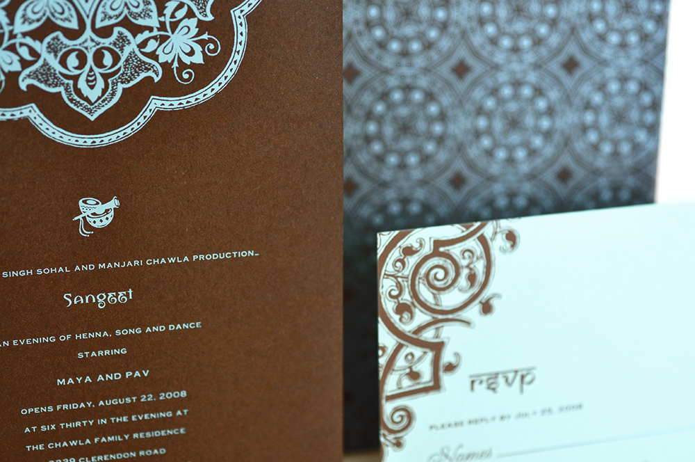 Credit: Atelier Perfect Indian Wedding Invitation