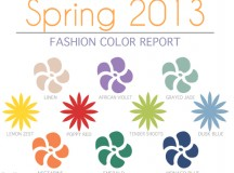 Spring 2013 Fashion Color Report