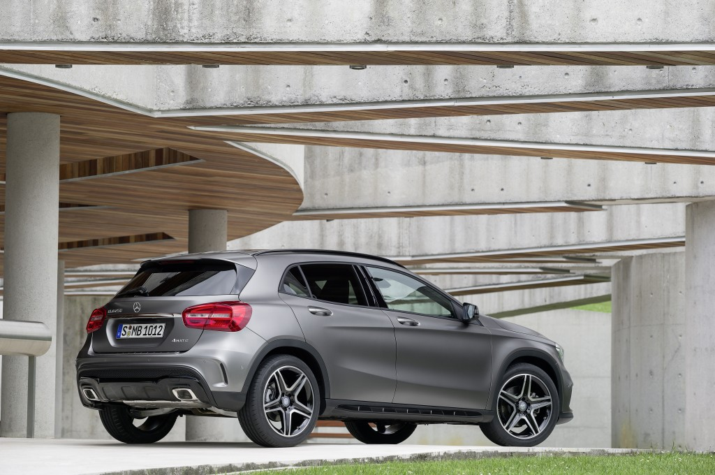 Mercedes GLA Class Thinks Small and Beautiful