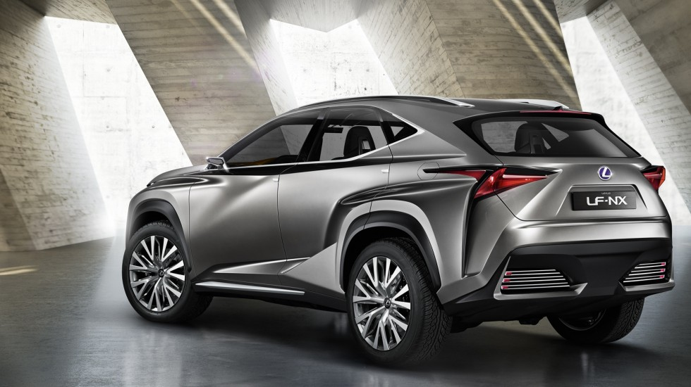The Frankfurt Debut of the Lexus LF-NX Concept
