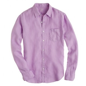Guy Style Violet Shirt