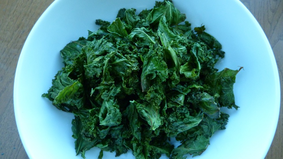 Crispy Kale Chips Made Easy